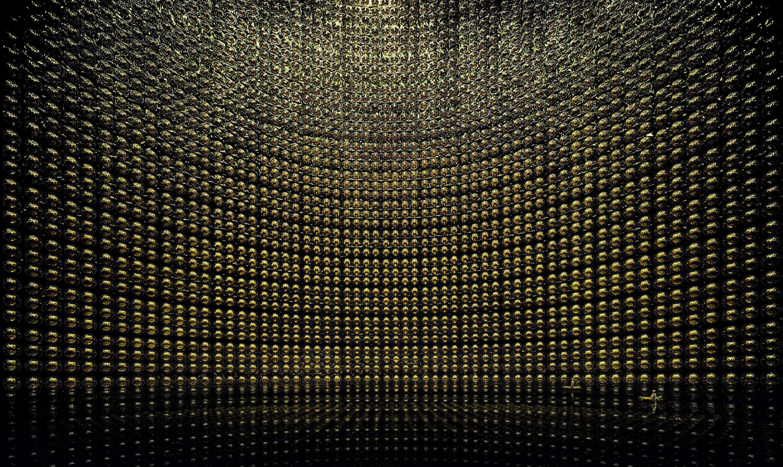 (安德列亚斯·古斯基《神冈(Kamiokande)》,2007)